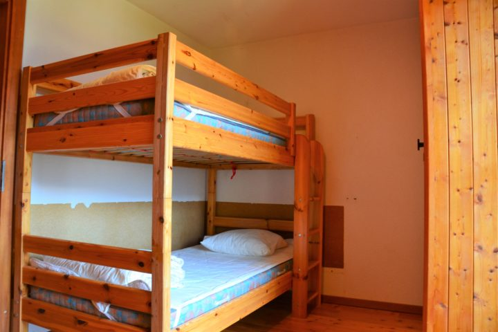 Chambre lits superposés